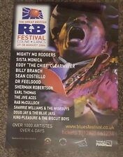 THE GREAT BRITISH R&B FESTIVAL- COLNE LANCS 2004 - Promotional Poster *RARE*