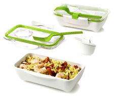 Bento box by BLACK + Blum design, Lunchbox sushibox Bianco/Verde