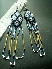 Native American Styled Dangle Earrings