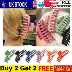 Lady Cute Hair Claw Clips Hair Claw Large Size Hair Clamps Hair Accessories-Z UK
