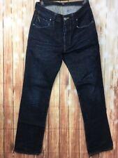 G-Star Raw 3301 Hombres Pantalón Largo Azul Oscuro Recto Classic Denim de Superdry W30 L32