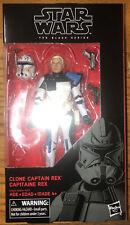 Hasbro Star Wars Clone Captain Rex Black Series 6 Inch Action Figure #59 MIB