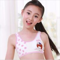 Puberty Girls Training Bras Sport Breathable Soft Cotton underwear Student Bra