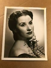 Frances McCann Extremely Rare Autographed 8/10 Photo '50 Murdered '63 Sci-Fi