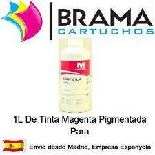 1 LITRO DE TINTA MAGENTA PIGMENTADA NONOEM EPSON  T1291 T1281 Sx425W T1811