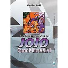 LE BIZZARRE AVVENTURE DI JOJO - DIAMOND IS UNBREAKABLE 11 DI 12 STAR COMICS NUOV