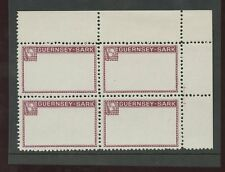 Guernsey SARK 1965 1/3 Frame PERF PROOF block 4
