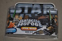 STAR WARS GALACTIC HEROES LUKE SKYWALKER & SPEEDER BIKE MISB PLAYSKOOL HASBRO