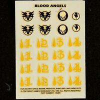 Blood Angels Decals Transfers Decals Warhammer 40k