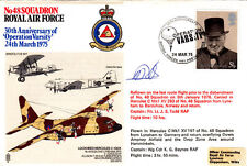 RAF 48 Sqn Reflown Cover Signed Hercules Pilot Todd