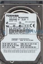 MK5065GSX, A0/GJ002H, HDD2H82 S ZL01 T, Toshiba 500GB SATA 2.5 Hard Drive