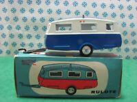 RARE Vintage  - ROULOTE / ROULOTTE / CARAVAN - 1/43  Metosul 03