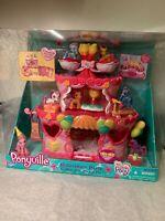 My Little Pony Ponyville Rollerskate Party Cake With Pinkie Pie Hasbro NIB 2007