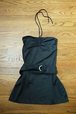 NWT Juicy Couture Women's Swimsuit Cover-Up Black Dress Belted ~ XS