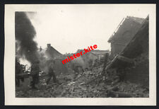 France-Amiens-bombarder-après aviateur attaque-somme-picardie - 5. chars division - 1940