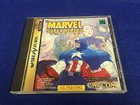 Sega Saturn Marvel Super Heroes Japan SS