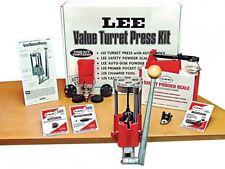 Lee Precision Deluxe Steel Cast Iron 4 Hole Handgun Pistol Ammo Turret Press Kit