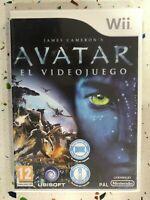 Avatar Il Videogioco Gioco Nintendo Wii Pal Spagnolo James DI CAMERON Am