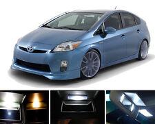 White Vanity / Sun visor  LED light Bulbs for Toyota Prius Prius C & V (4pieces)