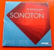 SONOTON LP ☆ DIE ERSTEN 50 JAHRE ☆ 1965-2015 ☆ RARE (LIBRARY) SAMPLER SEALED !