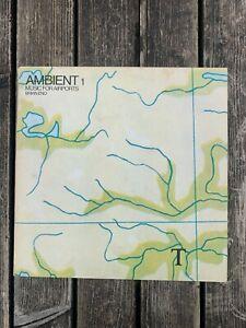 Brian Eno - Ambient 1 (Music For Airports) EG AMB 001 Vinyl LP UK 1979 1st Press