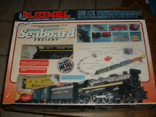 Lionel Seaboard Freight Train Set 027 Diecast 6-17746 Used Once Extra Track