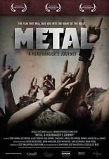 METAL: A HEADBANGER'S JOURNEY Movie POSTER 27x40