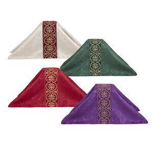 Altar Linen onreale Collection Chalice Veil - Set of 4