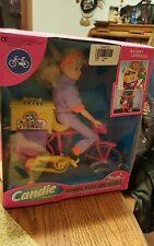 NIB AUTHENTIC Children's Toy Doll Candie Riding with her Puppy Battery Operated