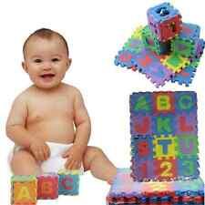 36X Creative Mini Puzzle Alphabet A-Z Letters Numeral Foam Mat Educational Toy F