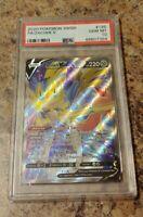 Zacian V Full Art 195/202 Sword & Shield Graded Pokemon Card PSA 10 Gem Mint