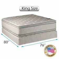 Dream Sleep Hollywood 2-Sided King Size Gentle Plush PillowTop Mattress Set