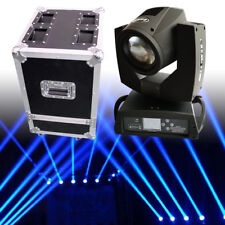 Used 7R 230W Dmx512 Stage Moving Head Light Dj 16Ch Zoom Beam Lighting+Flycase