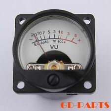 MINI DC500μA VU Panel Meter Vintage Audio Record AMP Lever DB Meter Back light*2