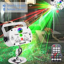 Mini Bühnenbeleuchtung RGB LED Laser Projektor USB Club Show Party Licht Disco