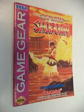 Samurai Shodown Sega Game Gear Instruction Manual Booklet Only