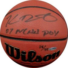 Kevin Durant Signed Autographed Wilson Basketball Warriors Thunder UDA /35