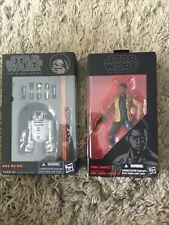 "Star Wars Black Series Orange Line # 04 R2D2 6"" Action Figure Plus Finn"