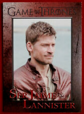 GAME OF THRONES - Season 5 - Card #43 - SER JAIME LANNISTER - Rittenhouse 2016