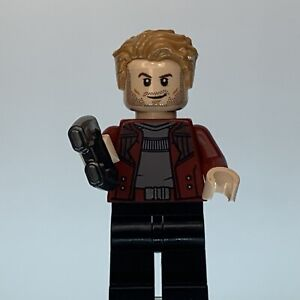 Lego Star-Lord Infinity War Minifigure SH499 Excellent Pre Owned