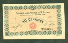 FRANCE 50 CENTIMES CHAMBRE DE COMMERCE SAINT DIZIER  ETAT: NEUF-  LOT 657