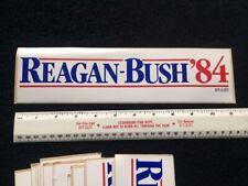 1984 RONALD REAGAN For President Campaign BUMPER STICKER Original George HW Bush