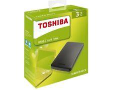 "3TB Toshiba Canvio Basics 6,3cm (2,5"") USB 3 0 NEU HDTB330EK3CA"