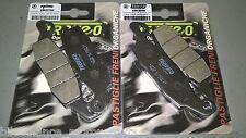 4 pastiglie anteriori kawasaki Z750 Z 750 2004 2005 2006 Trofeo organiche
