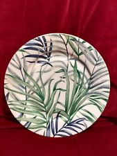 "Impressions of Paris Hibiscus Patrick Frey  Dinner Plate Paris 11.75""."