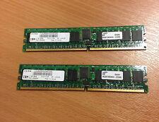 IBM 1931 2048MB (2x1024mb) 276pin 533 MHz DDR-2 SDRAM DIMM 2x12r8255 o 15r7168