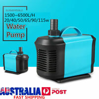1500-6500L/H Submersible Water Pump Aquarium Fish Tank 220V Fountain Marine
