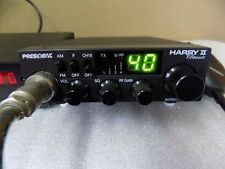 cb radio 27mhz cibie PRESIDENT HARRY II (120 CX) + FREQUENCY METER