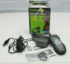 Premier Pet 600 Yard Trainer Tone/Beep/Vibe 8 Lb+/6 Month+ RECHARGEABLE Open Box