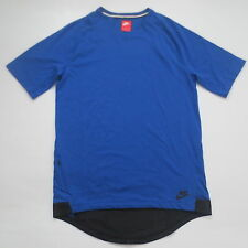 Nike Men NSW Bonded Sportswear Shirt - 805122 - Blue 480 - Size S - NEW